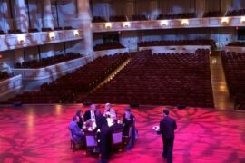 Private Dinner on Palladium Stage